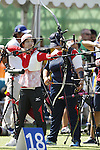 Kaori Kawanaka (JPN), <br /> AUGUST 5, 2016 - Archery : <br /> Women's Individual Ranking Round <br /> at Sambodromo <br /> during the Rio 2016 Olympic Games in Rio de Janeiro, Brazil. <br /> (Photo by Yusuke Nakanishi/AFLO SPORT)