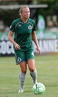 Sara Larsson..Saint Louis Athletica tied 1-1 with F.C Gold Pride, at Anheuser-Busch Soccer Park, Fenton, Missouri.
