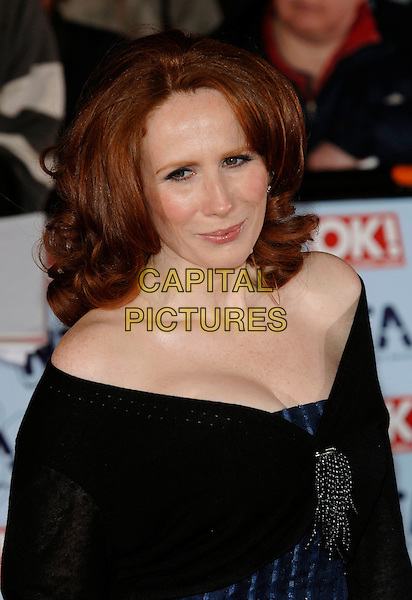 CATHERINE TATE.The National Television Awards 2006 held at the Royal Albert Hall, London, UK. - Arrivals.October 31st, 2006.Ref: PL.headshot portrait.www.capitalpictures.com.sales@capitalpictures.com.©Phil Loftus/Capital Pictures