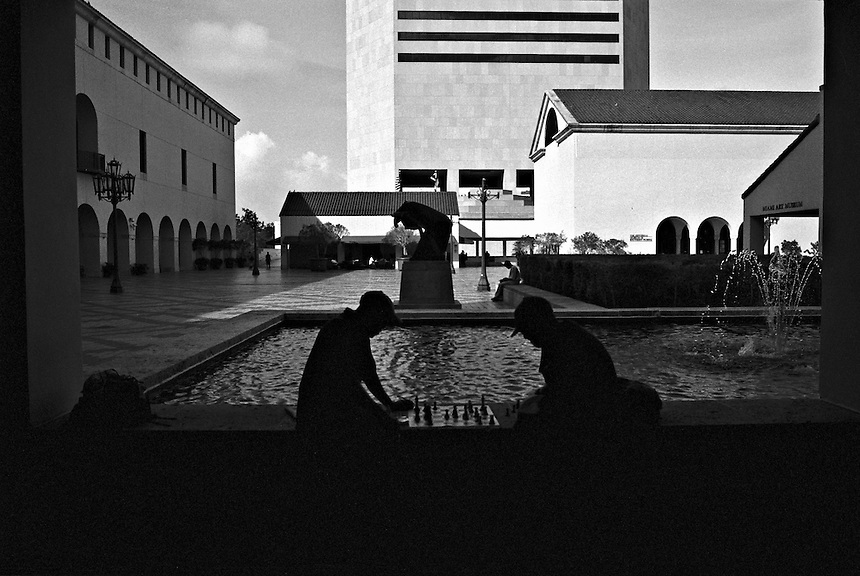 "From ""Miami in Black and White"" series. Miami, 2007"