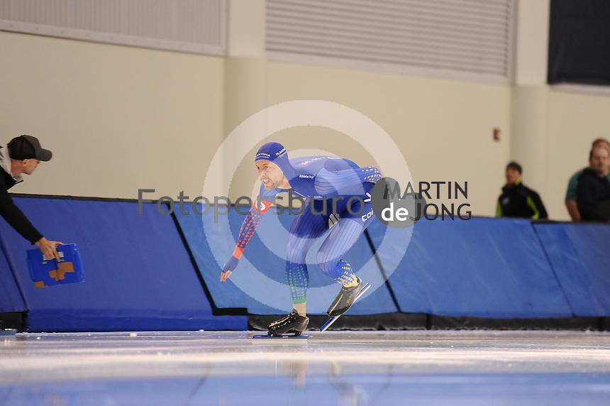 SPEEDSKATING: SALT LAKE CITY: 06-12-2017, Utah Olympic Oval, ISU World Cup, training, Michel Mulder (NED), photo Martin de Jong