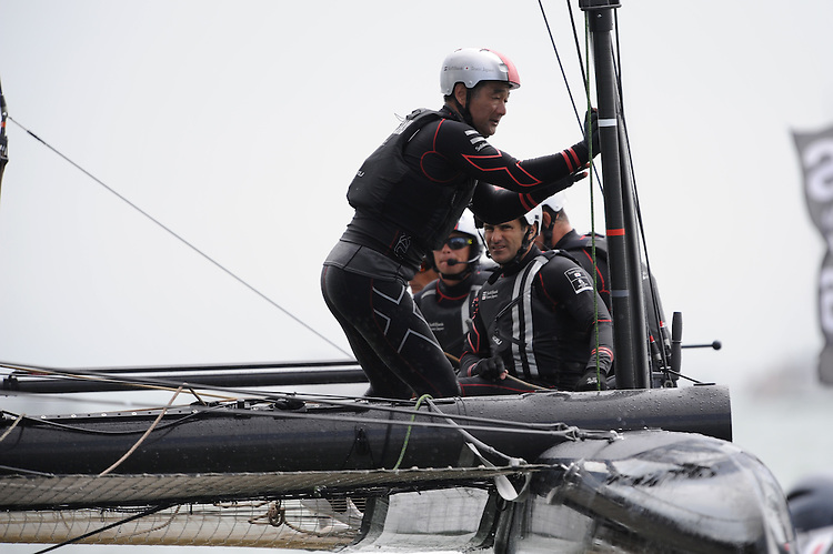 "Kazuhiro ""Fuku"" Sofuku JULY 24, 2016 - Sailing: Kazuhiro ""Fuku"" Sofuku General Manager & Bowman during day two of the Louis Vuitton America's Cup World Series racing, Portsmouth, United Kingdom. (Photo by Rob Munro/Stewart Communications)"