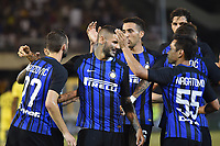 Esultanza Gol Marcelo Brozovic con Icardi, Vecino, Nagatomo Inter Goal celebration <br /> San Benedetto del Tronto 06-08-2017 <br /> Football Friendly Match  <br /> Inter - Villarreal Foto Andrea Staccioli Insidefoto