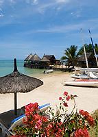 MUS, Mauritius, Grand Gaube, Hotel Paul et Virginie: Strand | MUS, Mauritius, Grand Gaube, Hotel Paul et Virginie: beach