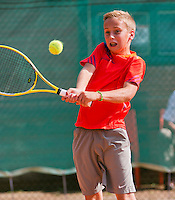 August 4, 2014, Netherlands, Dordrecht, TC Dash 35, Tennis, National Junior Championships, NJK,  Kas Roosch (NED)<br /> Photo: Tennisimages/Henk Koster