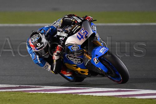 28.03.2015. Losail, Doha. MotoGP. Qatar Grand Prix Qualifying. Scott Redding (Marc VDS) during qualifying sessions