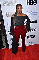 LOS ANGELES, CA- FEB. 08: Kelley Kali at the 2018 Pan African Film & Arts Festival at the Cinemark Baldwin Hills 15 in Los Angeles, California on Feburary 8, 2018 Credit: Koi Sojer/ Snap'N U Photos / Media Punch