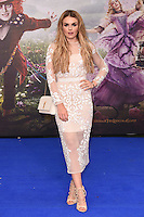 Tallia Storm at the premiere of &quot;Alice Through the Looking Glass&quot; at the Odeon Leicester Square, London.<br /> May 10, 2016  London, UK<br /> Picture: Steve Vas / Featureflash