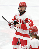 Taylor Holze (BU - 24) - The Boston University Terriers tied the visiting University of Vermont Catamounts 2-2 on Saturday, November 13, 2010, at Walter Brown Arena in Boston, Massachusetts.