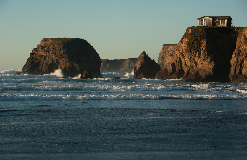 Northern California coastline.