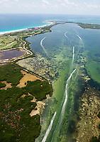 Cancun aerial shots. Cancun, Quintana Roo, Mexico
