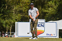 Mark Hubbard (USA) watches his tee shot on 2 during round 4 of the 2019 Houston Open, Golf Club of Houston, Houston, Texas, USA. 10/13/2019.<br /> Picture Ken Murray / Golffile.ie<br /> <br /> All photo usage must carry mandatory copyright credit (© Golffile | Ken Murray)