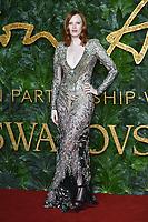 Karen Elson<br /> arriving for The Fashion Awards 2018 at the Royal Albert Hall, London<br /> <br /> ©Ash Knotek  D3466  10/12/2018