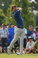 Ollie Schniederjans (USA) watches his tee shot on 6 during 4th round of the 100th PGA Championship at Bellerive Country Club, St. Louis, Missouri. 8/12/2018.<br /> Picture: Golffile   Ken Murray<br /> <br /> All photo usage must carry mandatory copyright credit (© Golffile   Ken Murray)