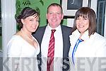 Sarah, Sam and Eileen O'Sullivan at the Kiskeam GAA social in the Dromhall Hotel, Killarney on Saturday night.......