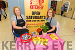 Tralee Soup Kitchen volunteers Mary Dolan and Collette Price in the Manor West Shopping Centre and Retail Park hosting Kerry's local community organisations for its 'Community on Your Doorstep' exhibition on Saturday.
