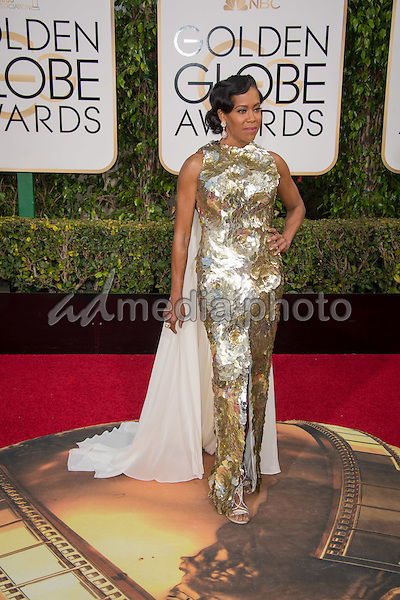 "Nominated for BEST PERFORMANCE BY AN ACTRESS IN A SUPPORTING ROLE IN A SERIES, MINI-SERIES OR MOTION PICTURE MADE FOR TELEVISION for her role in ""American Crime,"" actress Regina King attends the 73rd Annual Golden Globes Awards at the Beverly Hilton in Beverly Hills, CA on Sunday, January 10, 2016. Photo Credit: HFPA/AdMedia"