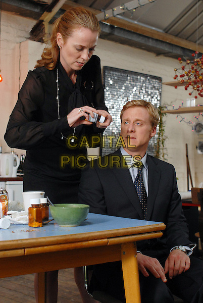 Daisy Donovan &amp; Alan Tudyk<br /> in Death at a Funeral (2007) <br /> *Filmstill - Editorial Use Only*<br /> CAP/NFS<br /> Image supplied by Capital Pictures