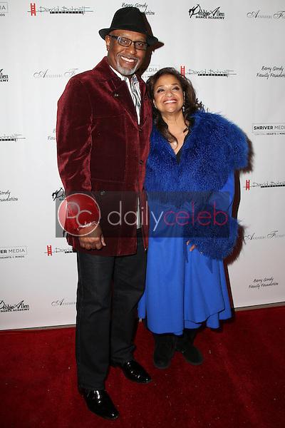 James Pickens Jr., Debbie Allen<br /> at Debbie Allen's &quot;Freeze Frame&quot; U.S. Premiere, Wallis Annenberg Center for the Performing Arts, Beverly Hills, CA 02-04-16<br /> David Edwards/DailyCeleb.Com 818-249-4998