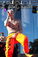 AUSTIN, TX - OCTOBER 14: Die Antwoord performs at the 2012 Austin City Limits Music Festival in Austin, Texas. October 14, 2012. © Joe Gall/MediaPunch Inc. /NortePhotoAgency