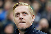 Sheffield Wednesday manager Garry Monk watches the game from the touch line during the Sky Bet Championship match between Sheffield Wednesday and Swansea City at Hillsborough Stadium, Sheffield, England, UK. Saturday 09 November 2019