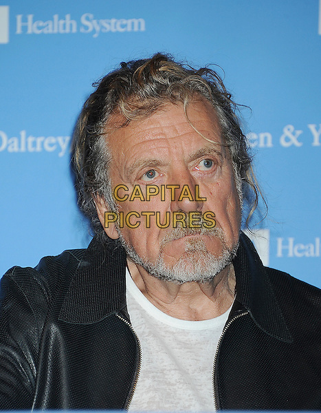 Robert Plant.The UCLA Daltrey/Townshend Teen And Young Adult Cancer Program Dedication at Ronald Reagan UCLA Medical Center in Los Angeles, California, USA..November 4th, 2011.headshot portrait black white beard facial hair.CAP/ROT/TM.©Tony Michaels/Roth Stock/Capital Pictures