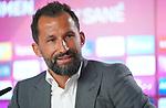 23.07.2020, nph001 Fussball 1.Bundesliga, FC Bayern Muenchen - Neuvorstellung Leroy Sane emspor (Leroy Aziz San) <br /> <br /> <br /> <br />  im Bild<br /> <br />  Hasan Salihamidzic FC Bayern zum Sportvorstand FC Bayern<br /> <br /> <br /> Foto: FC Bayern Muenchen/Pool/ via nordphoto
