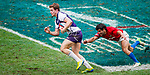 Action on Day 3 of the Cathay Pacific / HSBC Hong Kong Sevens 2013 on 24 March 2013 at Hong Kong Stadium, Hong Kong. Photo by Xaume Olleros / The Power of Sport Images