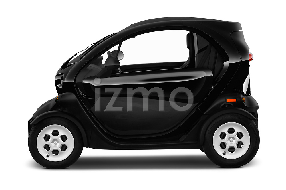 Car driver side profile view of a 2018 Renault Twizy Cargo 3 Door Hatchback