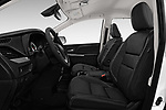 Front seat view of a 2020 Toyota Sienna SE 5 Door Mini Van front seat car photos