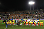 (L to R) U-20 Women's USA Team Group (USA), U-20 Women's Germany Team Group (GER), .SEPTEMBER 8, 2012 - Football / Soccer : .FIFA U-20 Women's World Cup Japan 2012, Final .match between USA 1-0 Germany .at National Stadium, Tokyo, Japan. .(Photo by Daiju Kitamura/AFLO SPORT) [1045]