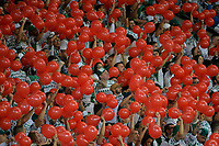 SÃO PAULO,SP, 21.11.2018 - PALMEIRAS-AMÉRICA-MG – Torcida do Palmeiras durante partida contra o América-MG, jogo válido pela trigésima sexta rodada do Campeonato Brasileiro 2018, disputada na Arena Allianz Parque em São Paulo, nesta quinta-feira, 21. (Foto: Levi Bianco/Brazil Photo Press)
