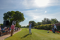 Chad Campbell (USA) watches his tee shot on 1 during round 4 of the Fort Worth Invitational, The Colonial, at Fort Worth, Texas, USA. 5/27/2018.<br /> Picture: Golffile | Ken Murray<br /> <br /> All photo usage must carry mandatory copyright credit (© Golffile | Ken Murray)