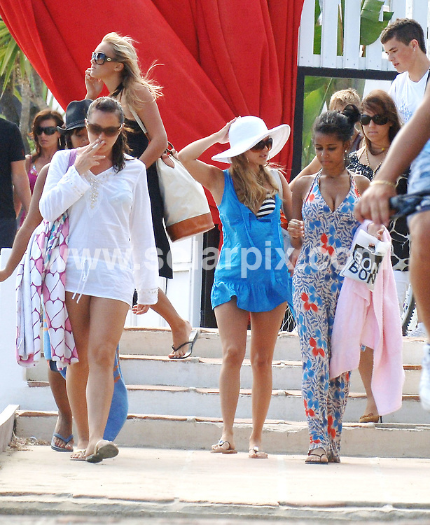 "**ALL ROUND EXCLUSIVE  PICTURES FROM SOLARPIX.COM**.**WORLDWIDE SYNDICATION RIGHTS**.Coronation St actress Tina O'Brien relaxing with friend in Marbella this weekend.Tina was joined by her fellow ex corrie actress Zaraah Abrahams and some girlfriends.An onlooker said ""They were having a great time it looked like a hen doo.Is it Tinas ?"".JOB REF: 4095          JGS        DATE: 19.06.07.**MUST CREDIT SOLARPIX.COM OR DOUBLE FEE WILL BE CHARGED* *UNDER NO CIRCUMSTANCES IS THIS IMAGE TO BE REPRODUCED FOR ANY ONLINE EDITION WITHOUT PRIOR PERMISSION*"