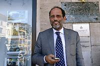 Roma, 30 agosto 2012.Il procuratore aggiunto di Palermo, Antonio Ingroia.
