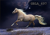 Bob, ANIMALS, collage, horses, photos(GBLA697,#A#) Pferde, caballos