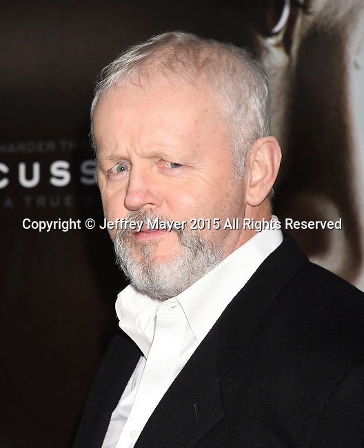 WESTWOOD, CA - NOVEMBER 23: Actor David Morse attends the screening of Columbia Pictures' 'Concussion' at the Regency Village Theater on November 23, 2015 in Westwood, California.