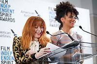 21 November 2019 - Los Angeles, California - Natasha Lyonne, Zazie Beets. 2019 Film Independent Spirit Awards Nominations held at The Line LA. Photo Credit: Birdie Thompson/AdMedia