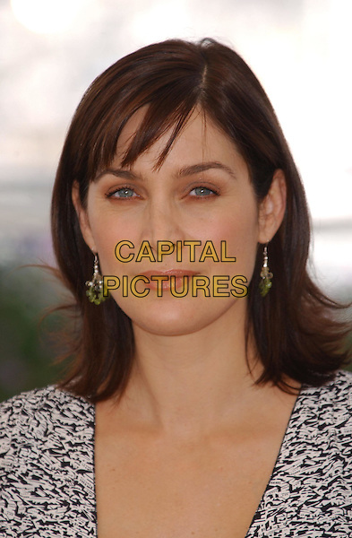 CARRIE ANNE MOSS  - CARRIE ANN MOSS.The Matrix: Reloaded Photocall.Cannes Film Festival 2003.www.capitalpictures.com.sales@capitalpictures.com.©Capital Pictures