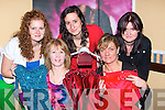Swapping clothes at the Swishing event in the Malton Hotel Killarney on Friday night was l-r: Veronika Vargova, Mary O'Neill, Sasha Rybarikova, Karyn Moriarty and Tina Hannafin.   Copyright Kerry's Eye 2008