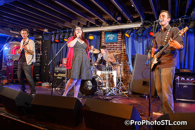 Hey Harbor in concert in Duck Room of Blueberry Hill in The Loop area of University City, MO on July 14, 2012.