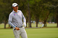Yechun Yuan (CHN) on the 3rd fairway during round 2 of the Australian PGA Championship at  RACV Royal Pines Resort, Gold Coast, Queensland, Australia. 20/12/2019.<br /> Picture TJ Caffrey / Golffile.ie<br /> <br /> All photo usage must carry mandatory copyright credit (© Golffile | TJ Caffrey)