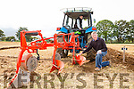 Cathal healy and adam Fleming Kilcummin in action  at the South Kerry Ploughing Championships in Fossa on Sunday