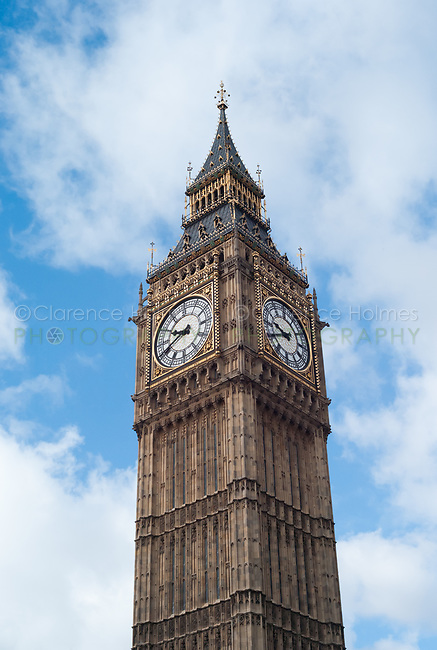 Big Ben clock tower, London, England