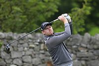 Ruairi O'Connor (Co.Sligo) on the 4th tee during the Final of the Barton Shield in the AIG Cups & Shields Connacht Finals 2019 in Westport Golf Club, Westport, Co. Mayo on Saturday 10th August 2019.<br /> <br /> Picture:  Thos Caffrey / www.golffile.ie<br /> <br /> All photos usage must carry mandatory copyright credit (© Golffile | Thos Caffrey)