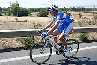 Javier Chacon escaped from the group during the stage of La Vuelta 2012 between Logroño and Logroño.August 22,2012. (ALTERPHOTOS/Paola Otero) /NortePhoto.com<br /> <br /> **SOLO*VENTA*EN*MEXICO**<br /> **CREDITO*OBLIGATORIO**<br /> *No*Venta*A*Terceros*<br /> *No*Sale*So*third*<br /> *** No Se Permite Hacer Archivo**<br /> *No*Sale*So*third*