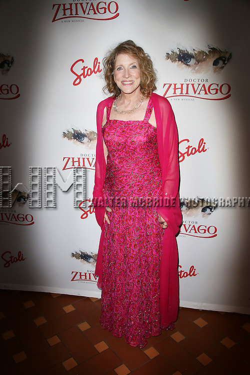 Lucy Simon attends the Broadway Opening Night After Party for 'Doctor Zhivago' at Rockefeller Center on April 21, 2015 in New York City.