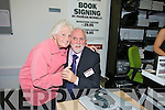 Ciss O'Connor and Padraig Kennelly pictured at the launch of the book Eyewitness and the website the kennelllyarchive.com in the library of the IT Tralee north campus on Thursday.