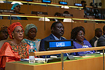 General Assembly Seventy-fourth session, 7th plenary meeting<br /> <br /> <br /> His Excellency Isatou Touray, Vice-President, Republic of the Gambia