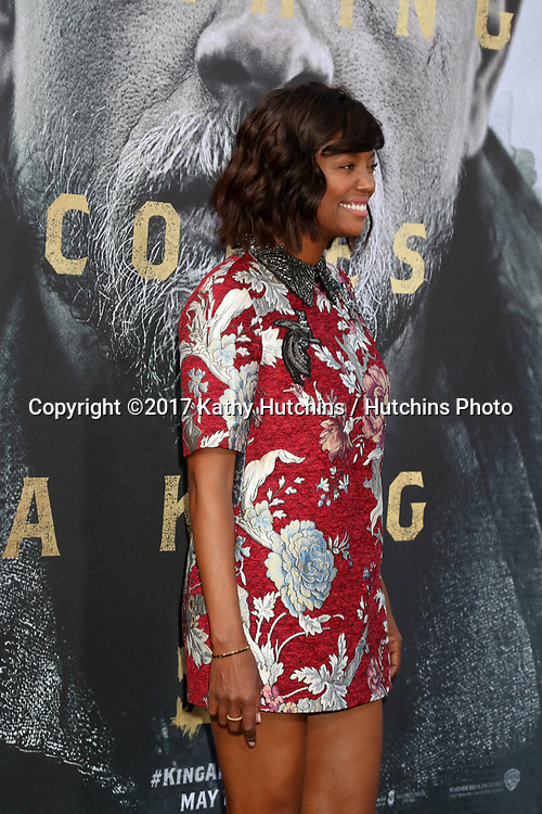 "LOS ANGELES - MAY 8:  Aisha Tyler at the ""King Arthur Legend of the Sword"" World Premiere on the TCL Chinese Theater IMAX on May 8, 2017 in Los Angeles, CA"